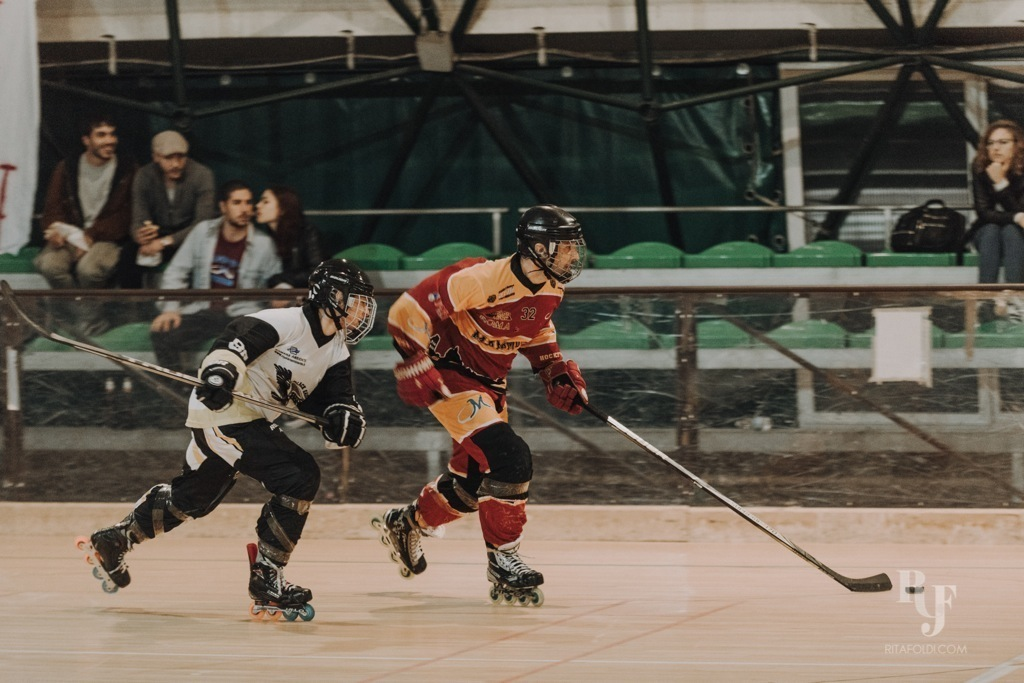 Mammuth Roma, Castelli Romani, Mammuth, hockey, inline hockey, Rita Foldi Photo