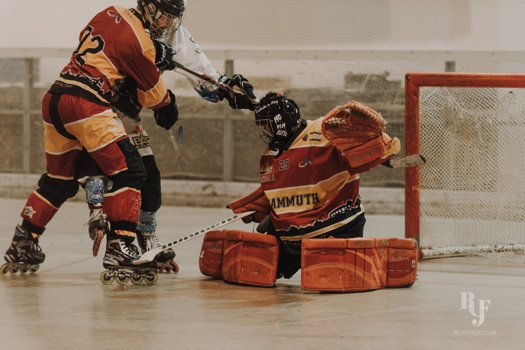 Mammuth Roma, Corsari Riccione, Mammuth, hockey, inline hockey, Rita Foldi Photo