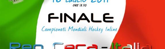Finale Campionati Mondiali Roccaraso2011: Rep. Ceca-Italia