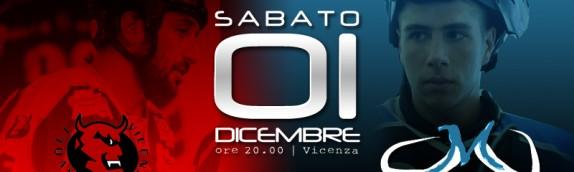 Domani in scena a Vicenza contro i Diavoli
