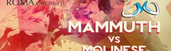 Arriva la Molinese per sfidare i Mammuth al Palamunicipio