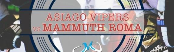 I Mammuth chiudono il girone d'andata ad Asiago in cerca di punti salvezza