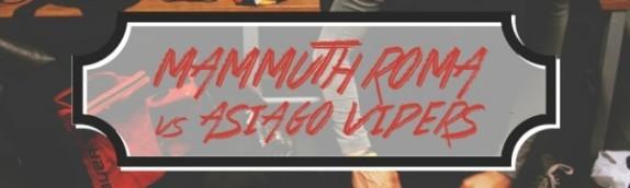 I Mammuth chiudono la stagione di Serie A1 ospitando Asiago