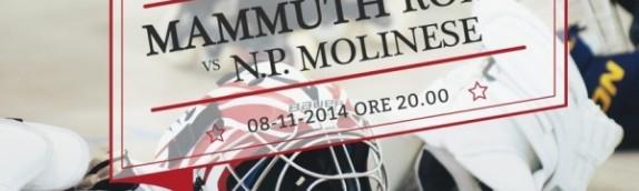 Brutta sconfitta in casa dei Mammuth che si arrendono alla  Molinese