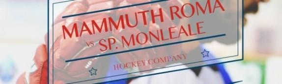 I Mammuth domani ospiteranno il Monleale