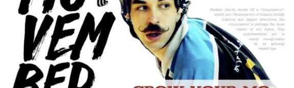 Fatevi crescere i baffi : Movember a sostegno degli uomini