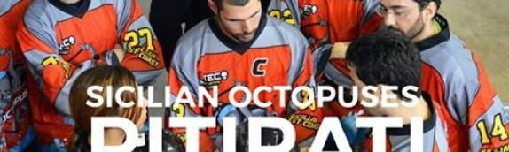 Sicilian Octopuses ritirati dal campionato B/C