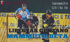 Serie B | Libertas Genzano - Mammuth Roma A @ Palamunicipio Roma XI | Roma | Lazio | Italia