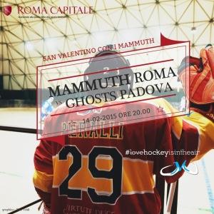 Mammuth - Ghosts Padova @ Palamunicipio Roma XI | Roma | Lazio | Italia