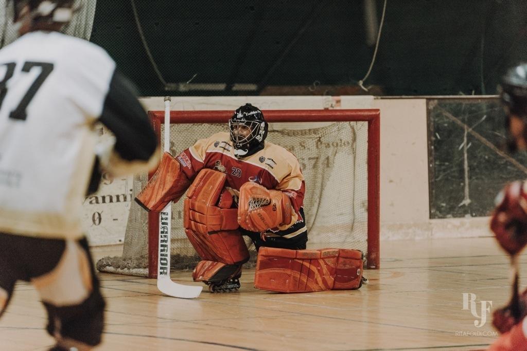 Mammuth Roma, Castelli Romani, Mammuth, hockey, inline hockey, Rita Foldi Photo