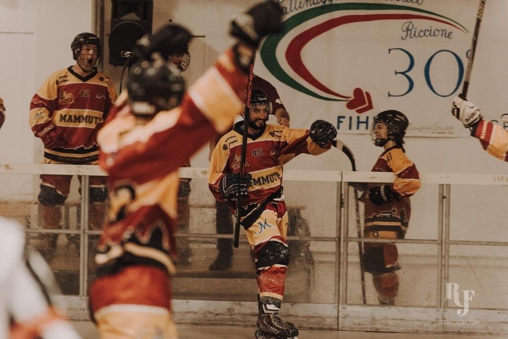 Mammuth Roma, Corsari Riccione, Mammuth, hockey, inline hockey, Rita Foldi Photo