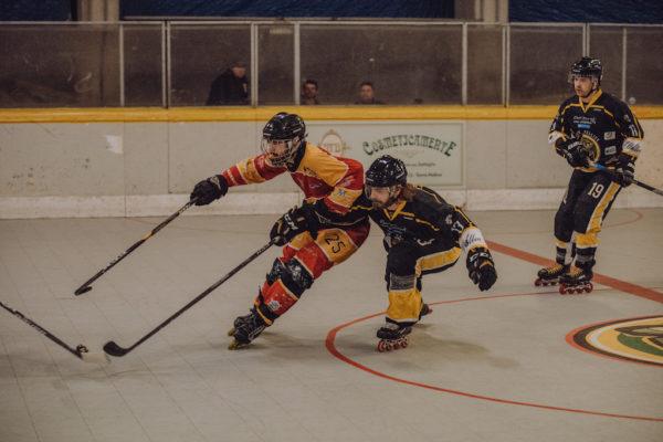 Mammuth hockey, Torre Pellice, hockey inline, hockey roma, Mammuth Roma