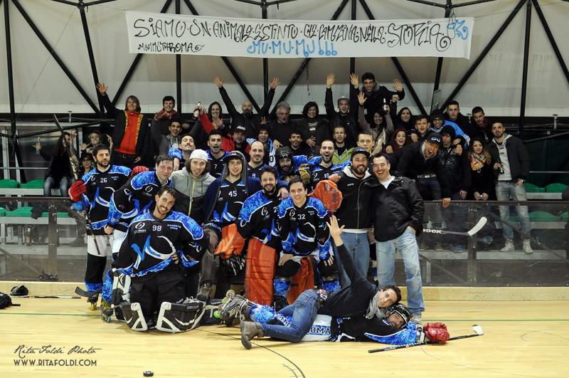 I Mammuth e il miglior pubblico dell'hockey inline italiano